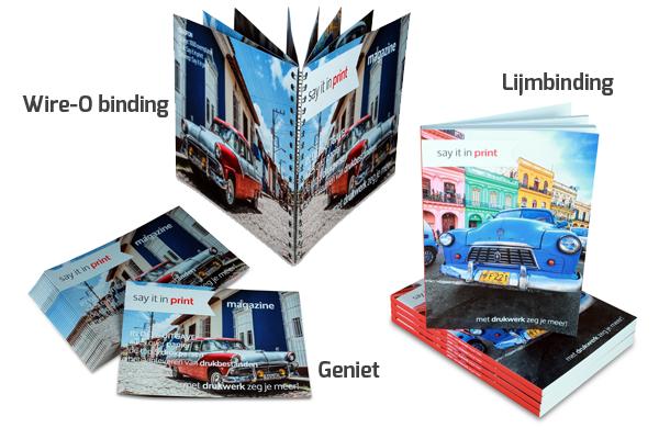 Ontwerptip: brochure of magazine maken
