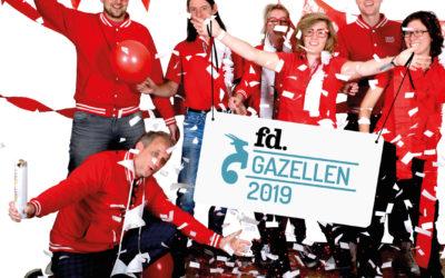 DWCPRINT winnaar FD Gazellen 2019