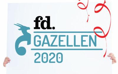 DWCPRINT voor het tweede jaar op rij FD Gazellen!