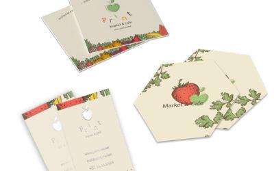 Voorbeelden van originele visitekaartjes drukken